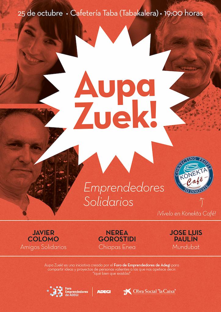 Aupa Zuek Emprendedores Solidarios