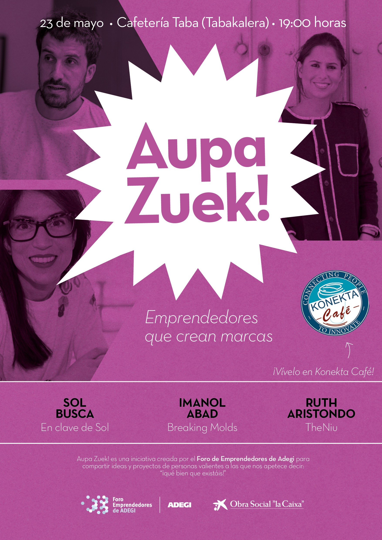 Aupa Zuek - Foro Emprendededores de Adegi