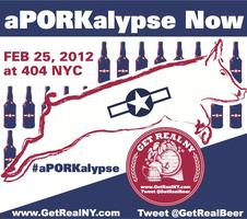Get Real Beer presents: aPORKalypse Beer Fest 2/25