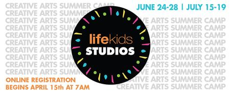 LifeKids STUDIOS Creative Arts Summer Camp