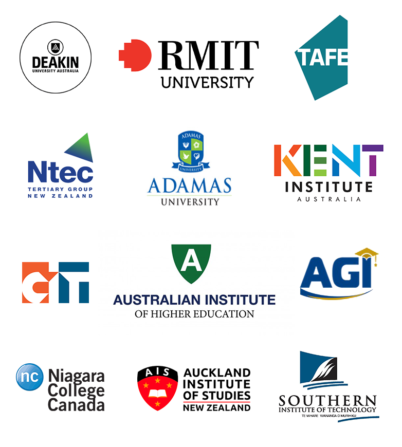 Universities and Colleges attending