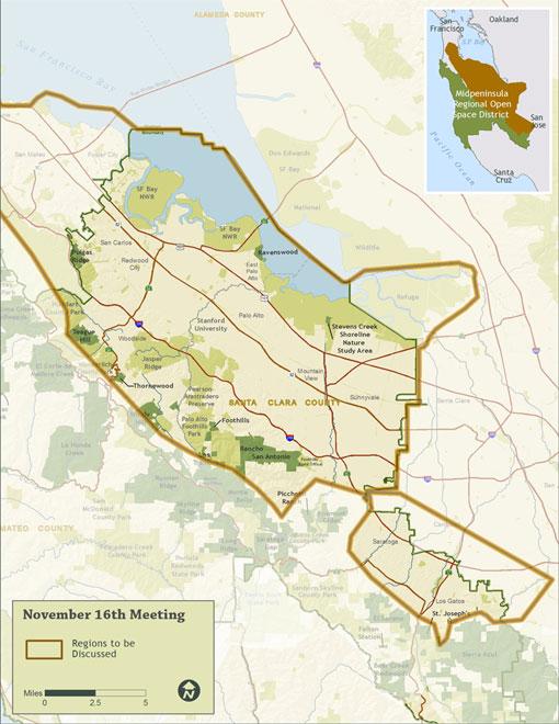 MROSD Subregions Map