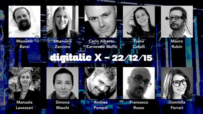 Digitalic X - Ospiti