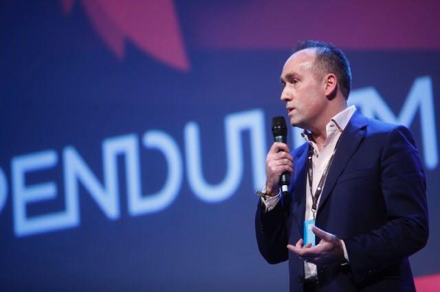 Shane Cradock speaking at The Pendulum Summit, Dublin 2017