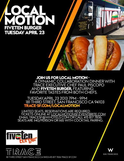 Local Motion Fiveten Burger
