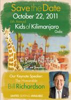 "Kids of Kilimanjaro 6th Annual ""Every Child Deserves a..."