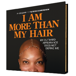 Book cover - I Am More Than My Hair
