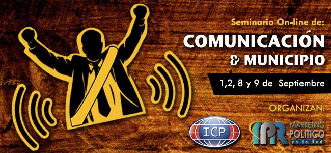 SEMINARIO ON-LINE DE COMUNICACION Y MUNICIPIOS