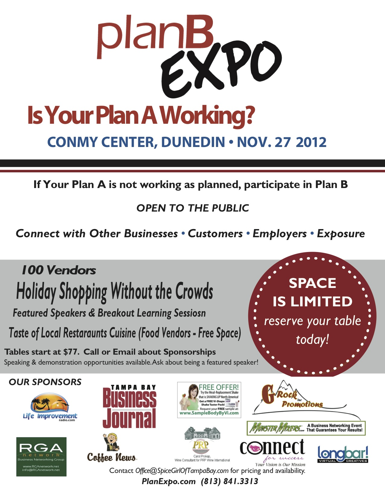 Plan B Expo - 11-27-2012