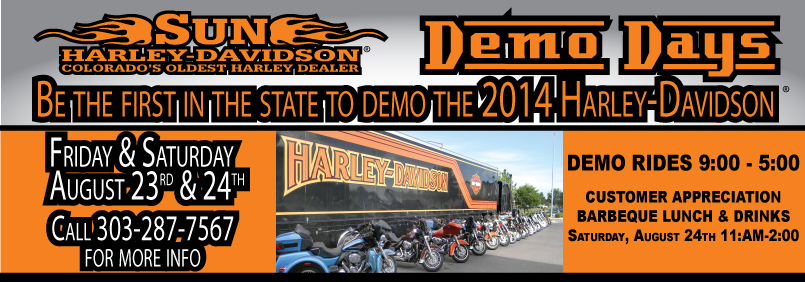 2014 SUN Harley Demo Days