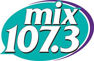 mix107.3 logo