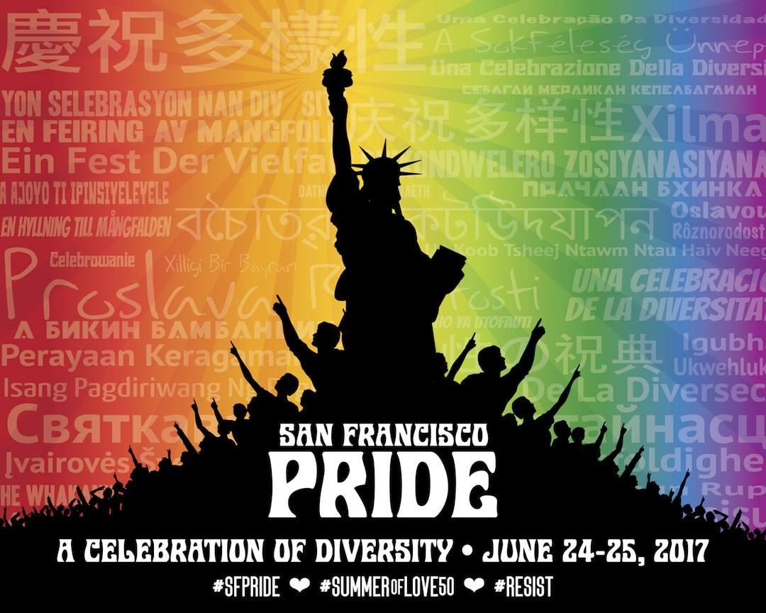 San Francisco Pride Keyart