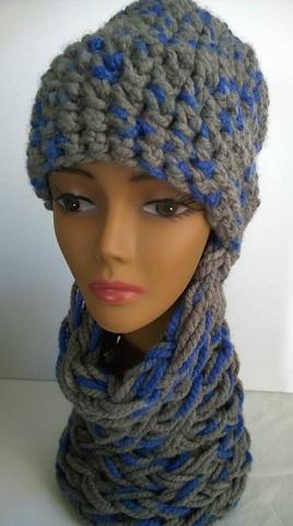 JuLu Original knit hat-scarf