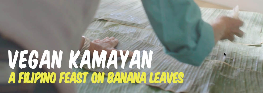 Vegan Kamayan: A Filipino Feast on Banana Leaves