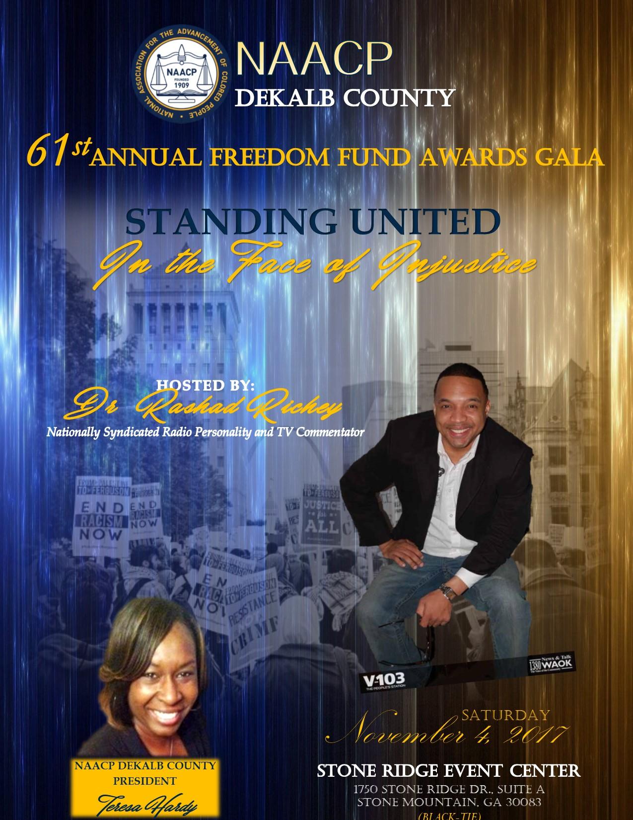 NAACP DeKalb County Freedom Fund Awards Gala