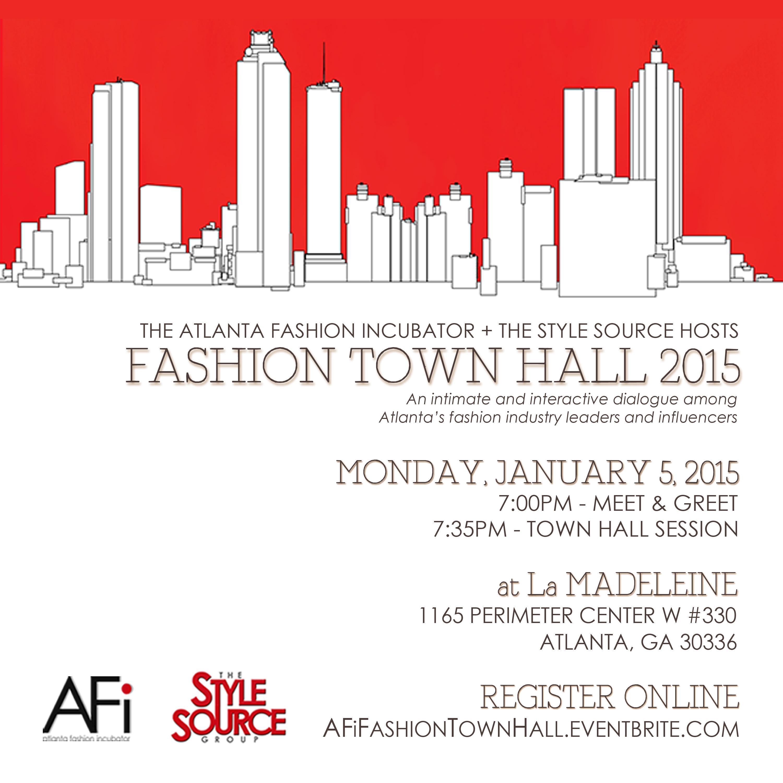 AFi's Fashion Town Hall 2015