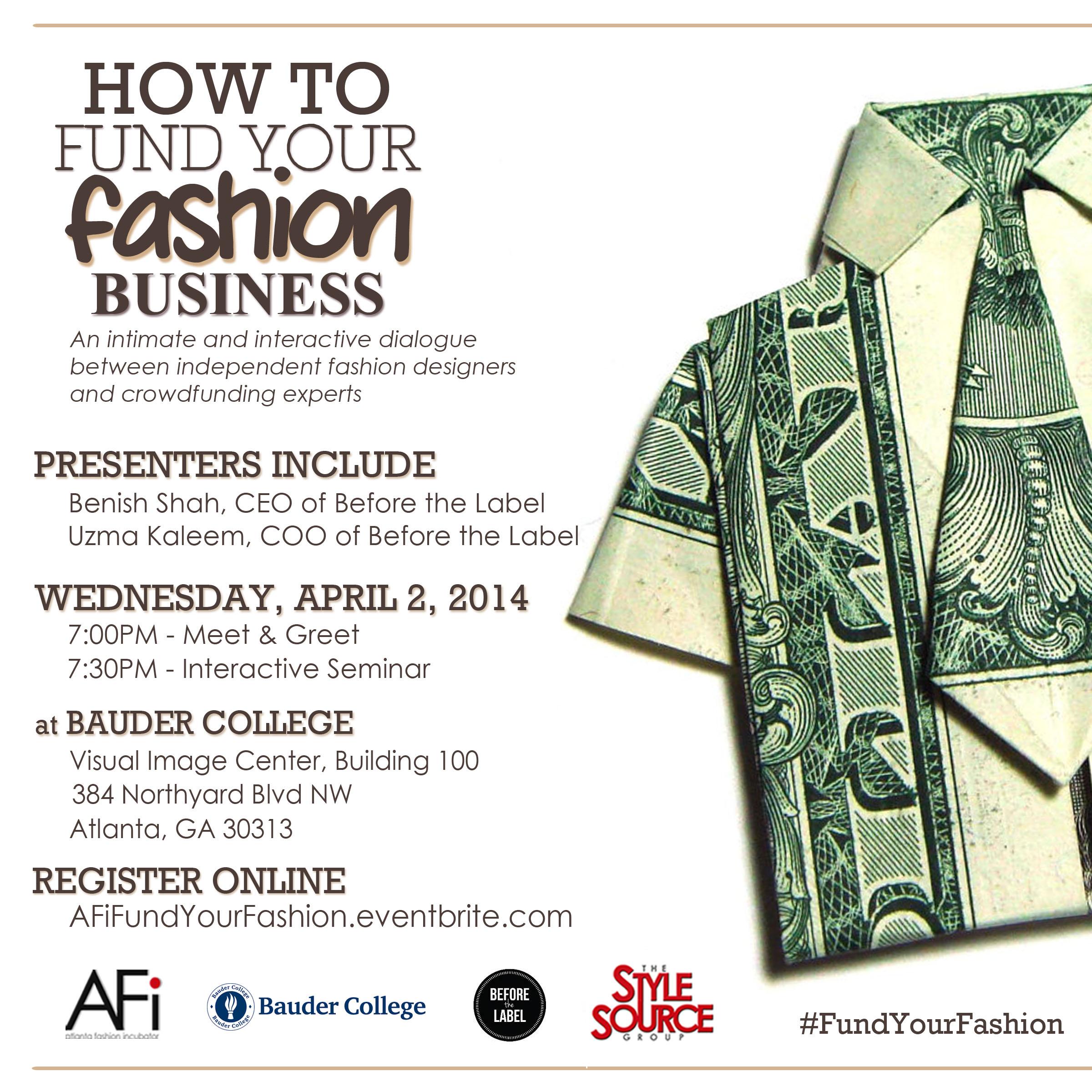 AFi, Fund Your Fashion