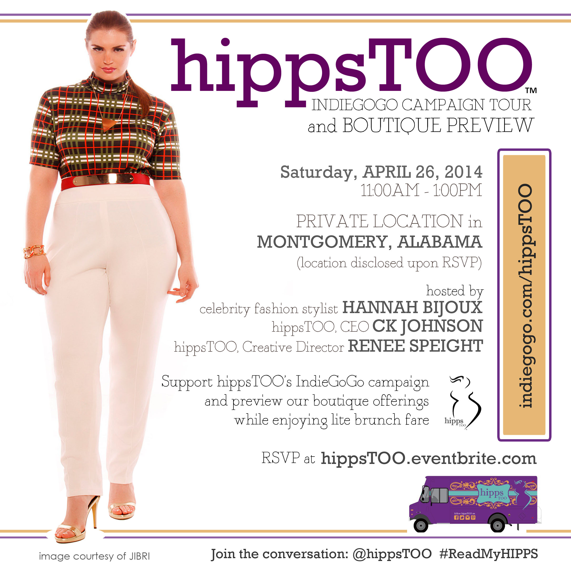 hippsTOO IndieGoGo Tour & Boutique Preview Montgomery