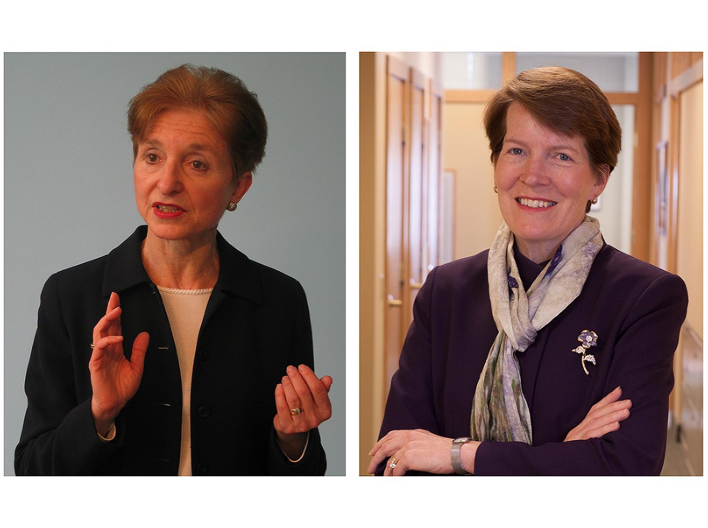 Ellen Estes and Virginia Stanton Smith