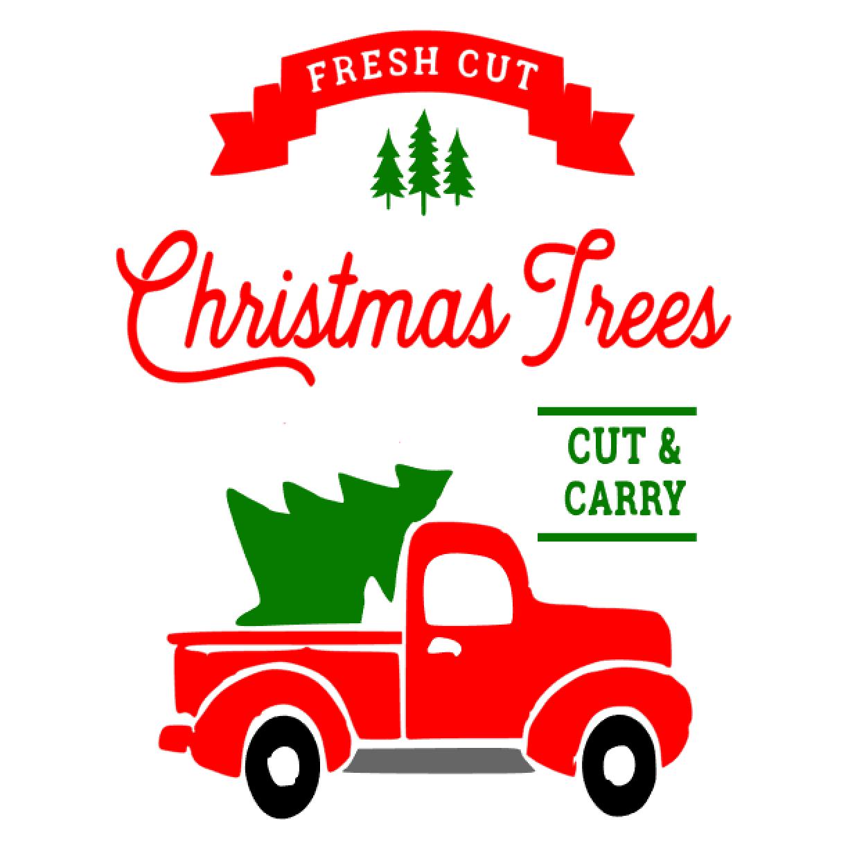 Christmas Tree + Truck
