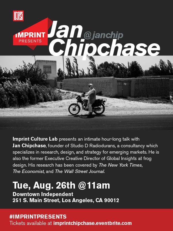 Imprint Presents: Jan Chipchase