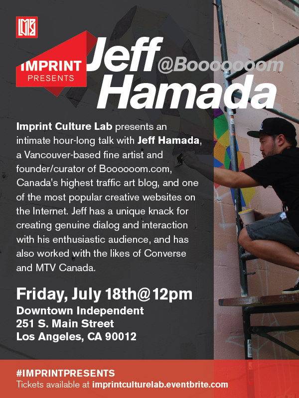 Imprint Presents: Jeff Hamada
