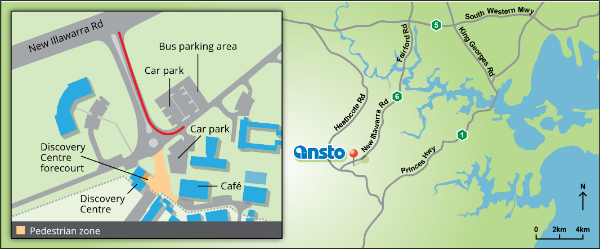 ANSTO discovery centre location