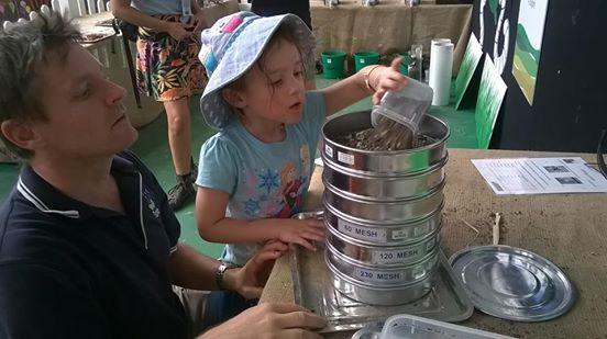 sieving soils