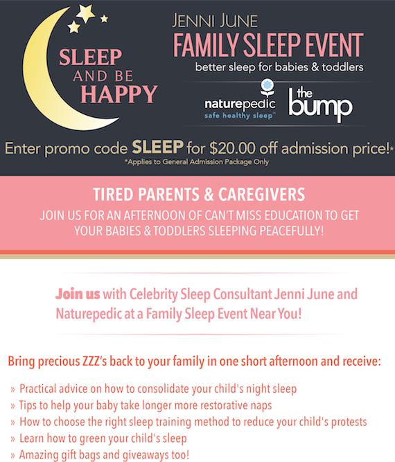Jenni June Family Sleep Event