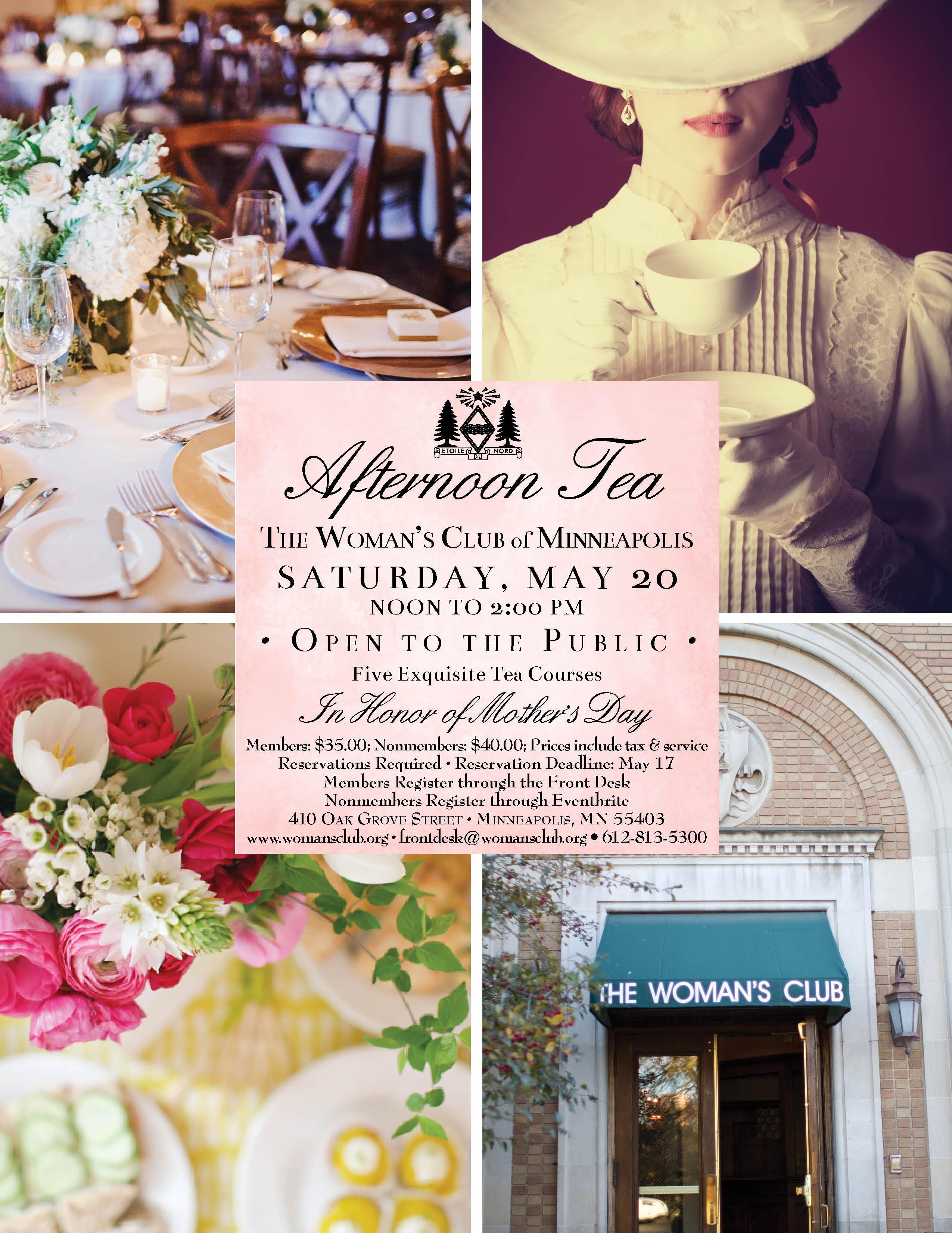 Saturday Afternoon Tea, May 20