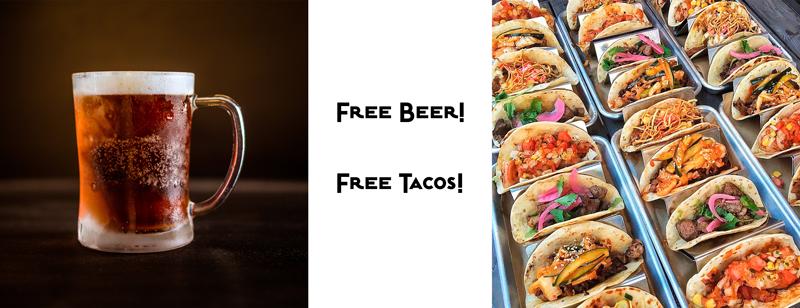 Beer & tacos!