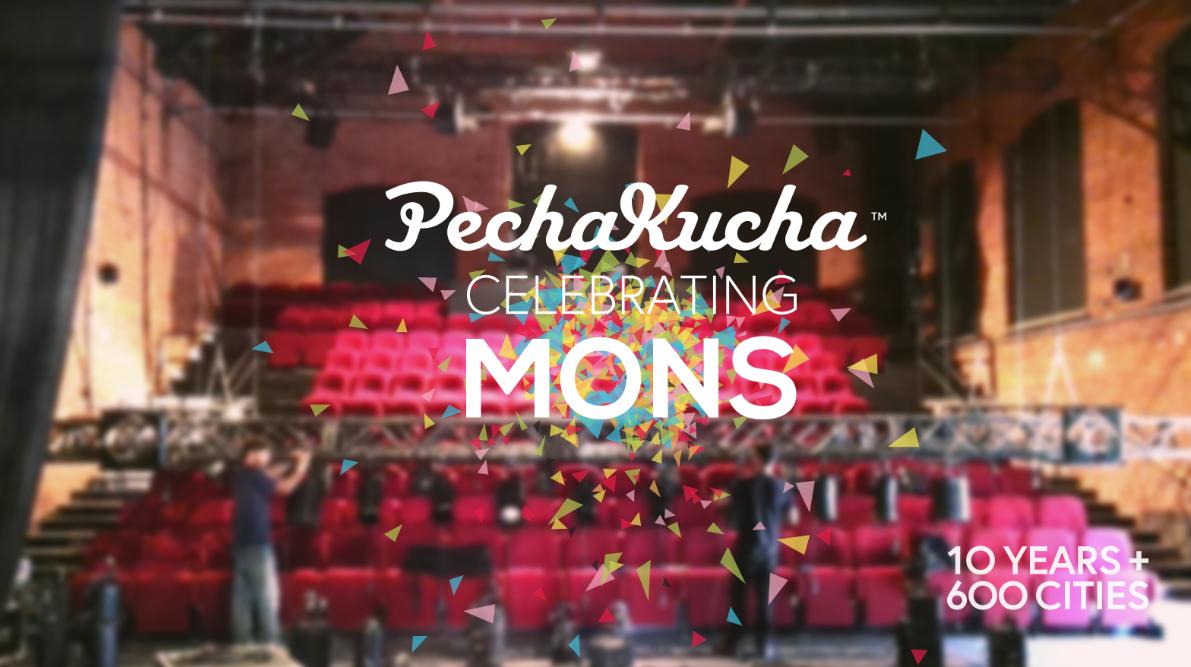 Pechakucha Mons #CreativeMons