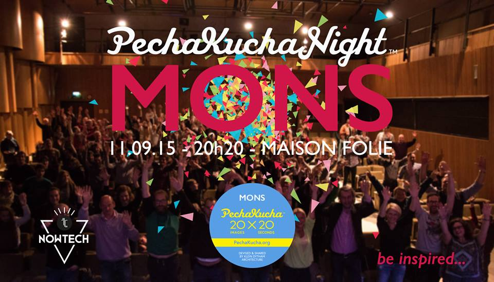 Pechakucha Night Mons - Technocité