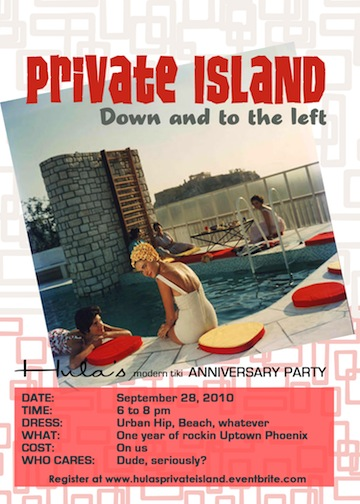 Hula's Modern Tiki Anniversary Party