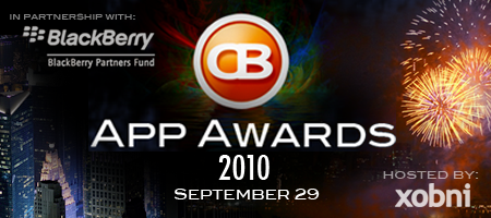 CrackBerry App Awards 2010 Hosted by BlackBerry Partners...