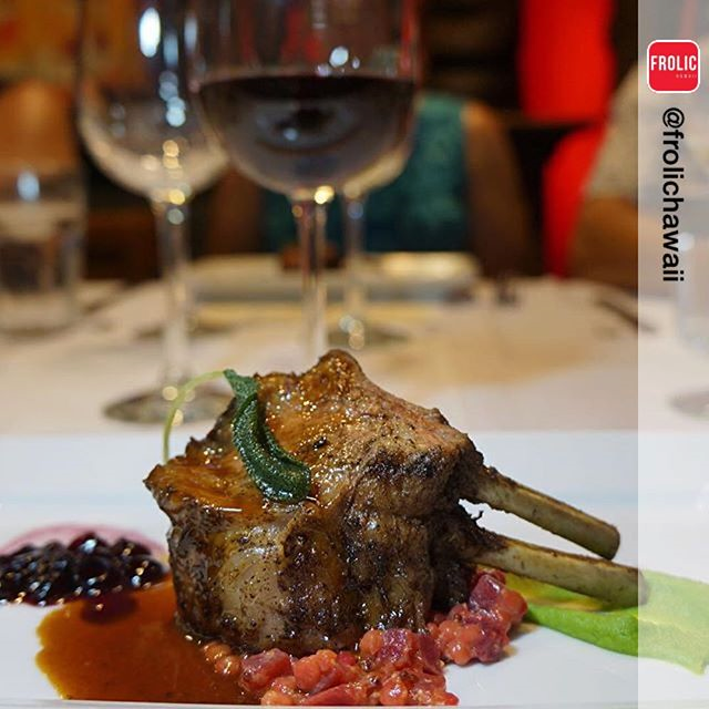 Tiki's Grill & Bar Wine Dinner Dish Sample