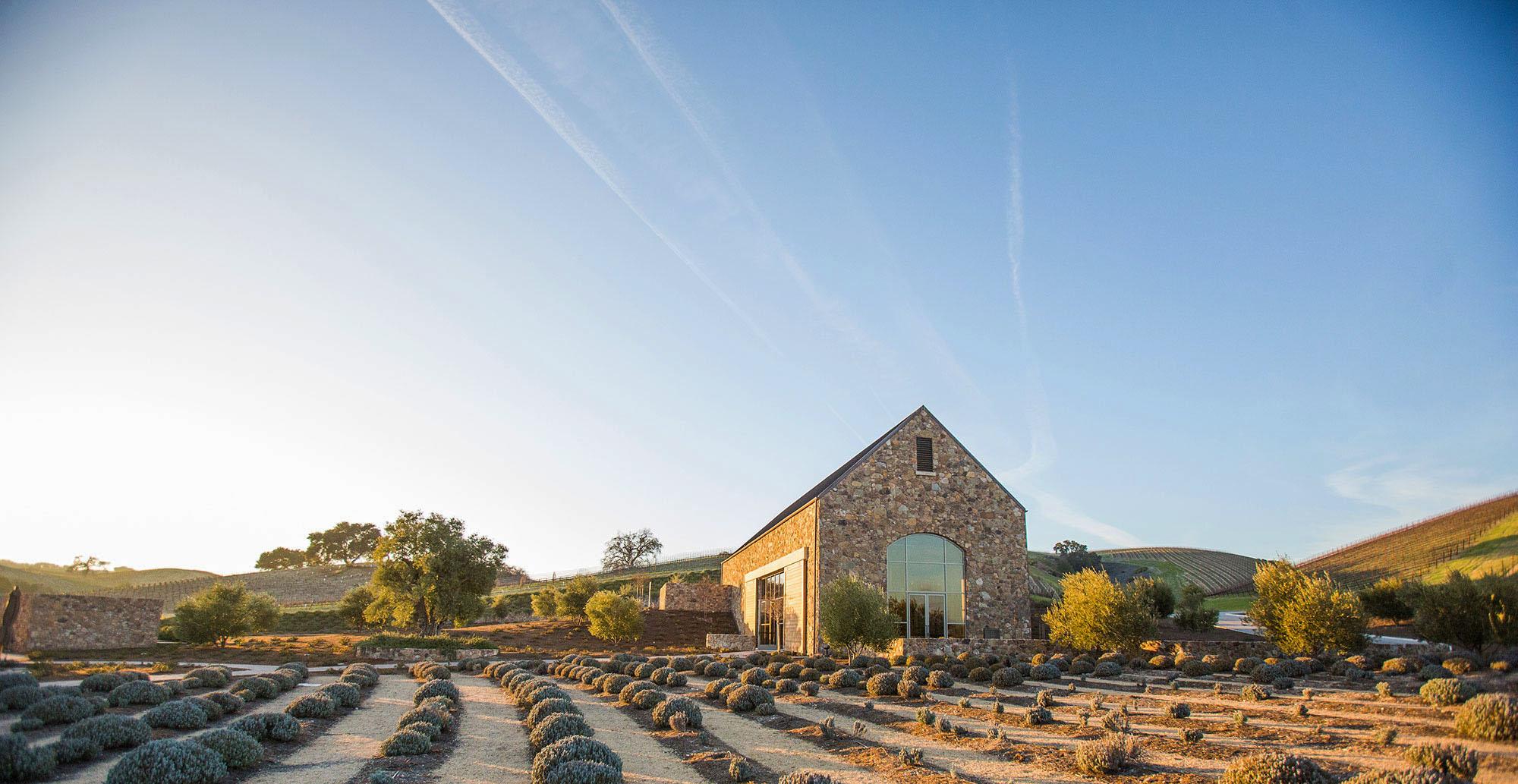Niner Wine Estate Building Craft Sky