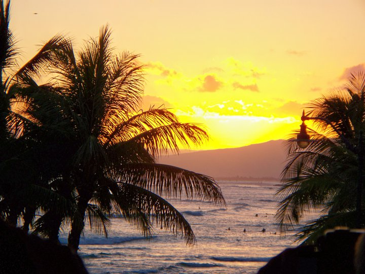 Tiki's Grill & Bar Sunset Ocean View