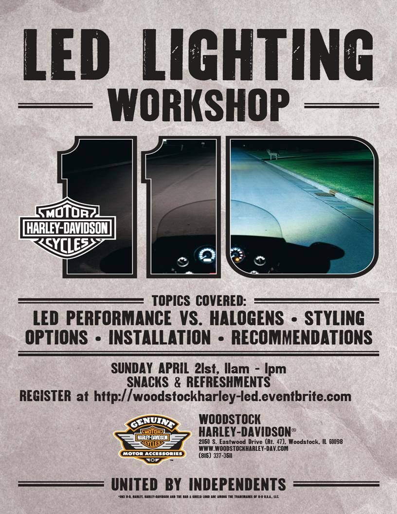 LED Workshop Flyer