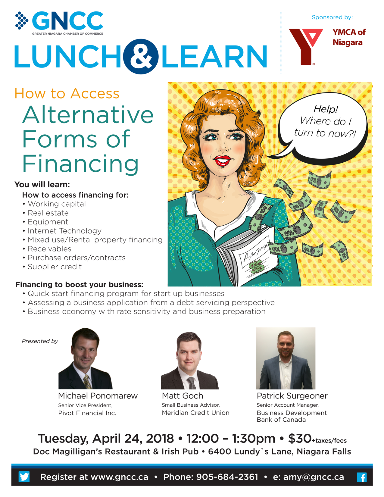 Lunch & Learn: Alternative Forms of Financing