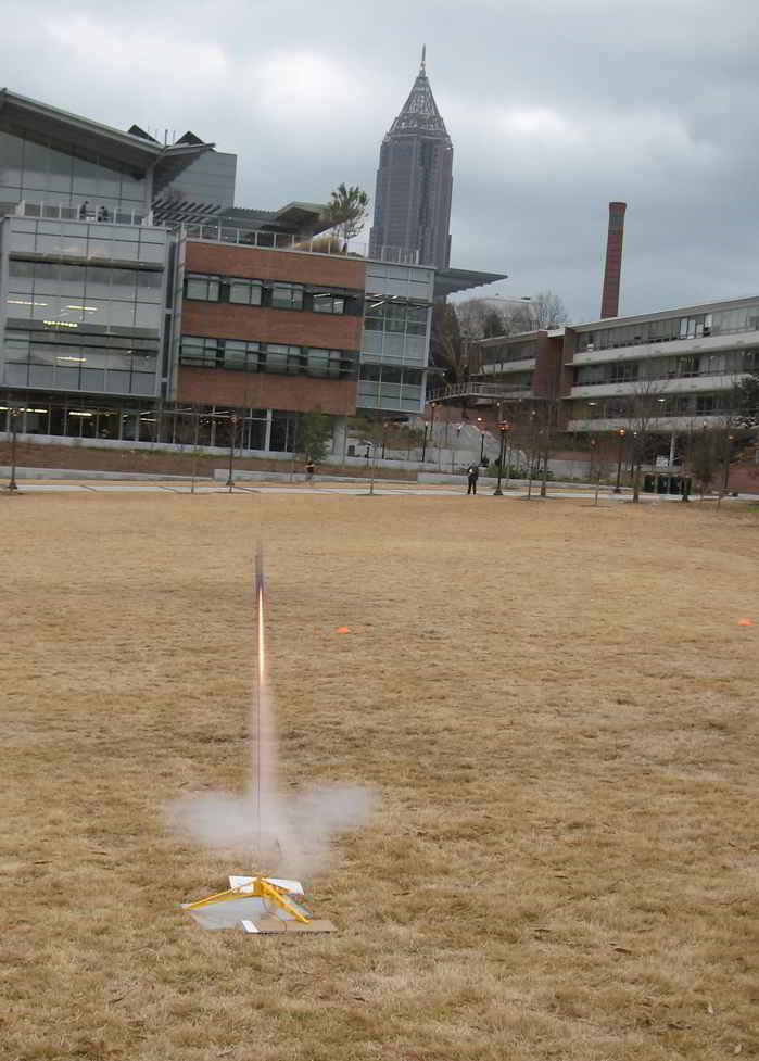 Image of Rocket Launching