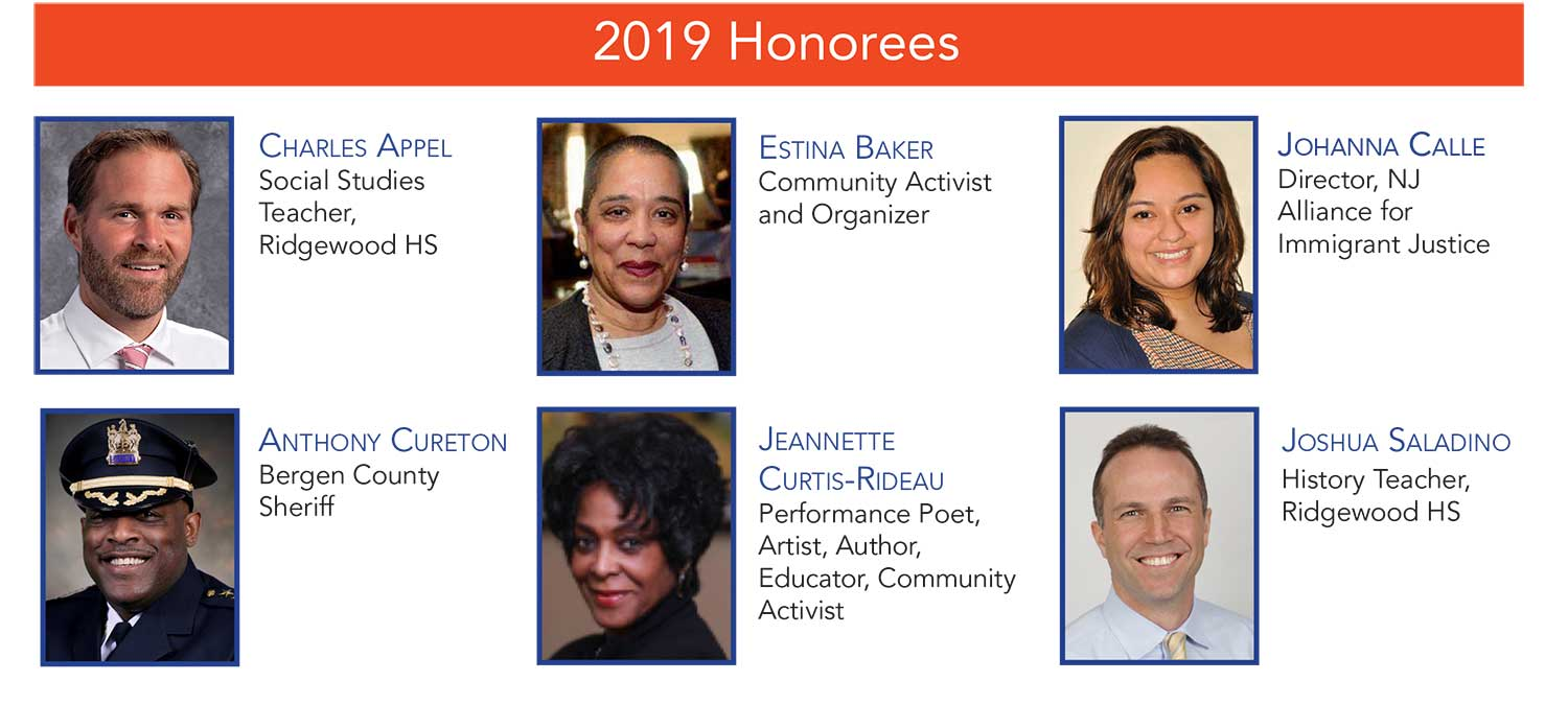 6th Annual Racial Justice Award Honorees