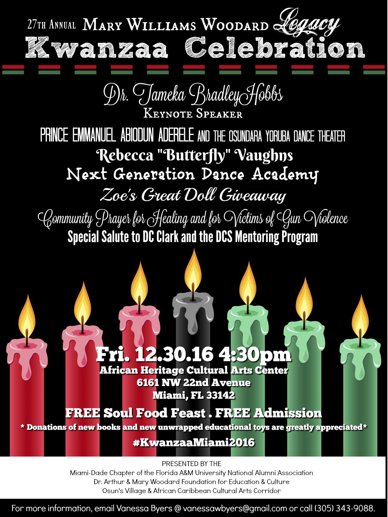 Mary Williams Woodard Kwanzaa Celebration Miami