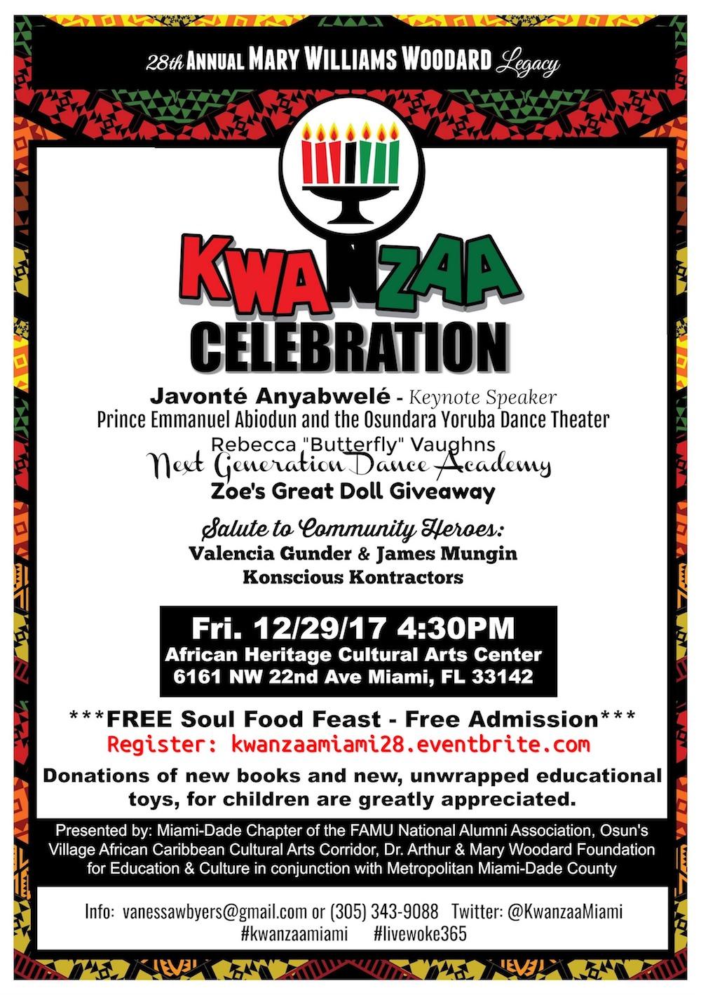 Kwanzaa Flyer