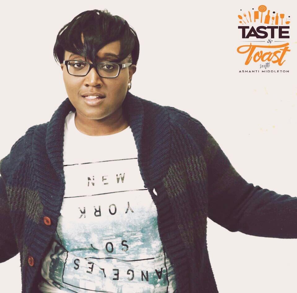 Ashanti Middleton of Taste & Toast with AM