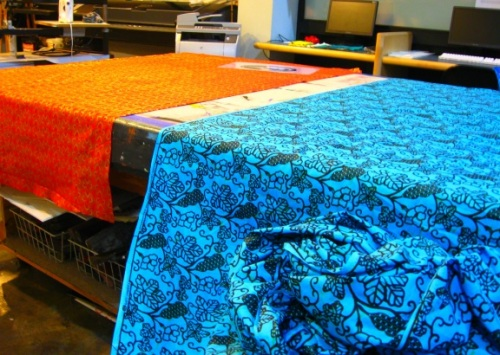 Drop off any dutch wax print African fabric
