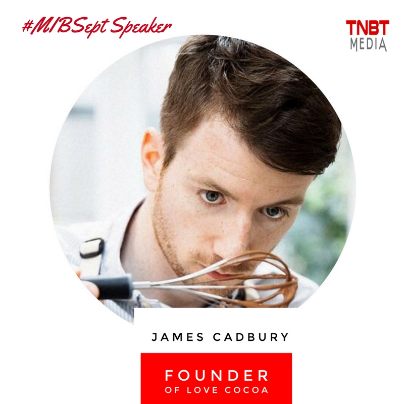 James Cadbury TNBT Media Speaker