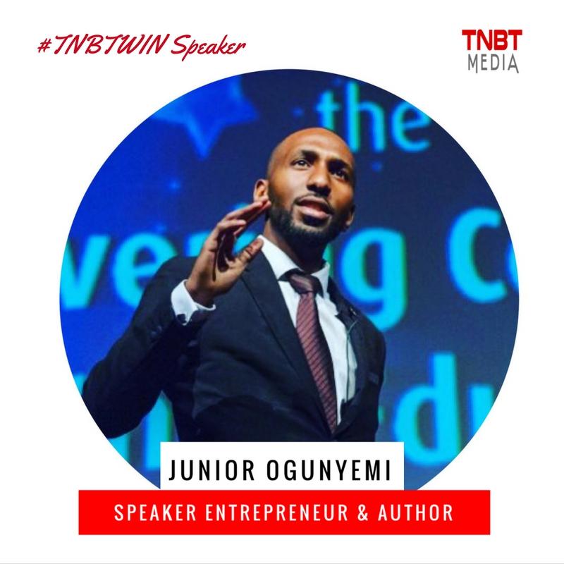 Junior Ogunyemi TNBT Speaker