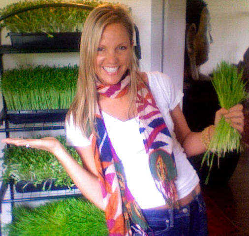 Mikaele Holzer and her Sprouts