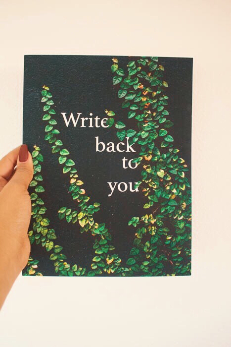 Write Back to You Journal